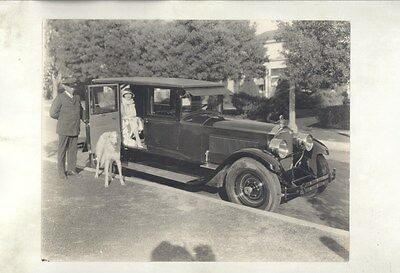 1925 Packard 8 Leatrice Joy Actress Cecil DeMille ORIGINAL Factory Photo ww7616