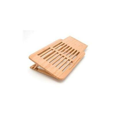 LIPPER 1888 Expandable Laptop Stand Bamboo