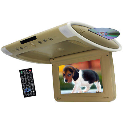 "TVIEW T101DVFDTN Tview 10.1"" Wide Screen Flip Down w/Built in Slot Type DVD P..."