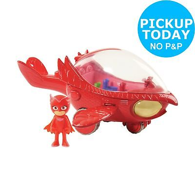 PJ Masks Deluxe Owlette Vehicle With 3 inch Figure - 3+ Years.