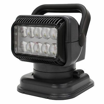 GOLIGHT 51494 LED Portable Golight W/Wired Rmt-Charcole