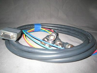 Kramer C-GM/5BF   15-pin VGA female to 5 BNC Breakout Cables
