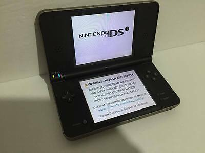 Nintendo DSi XL Bronze Handheld System - Damaged but works!! See listing!