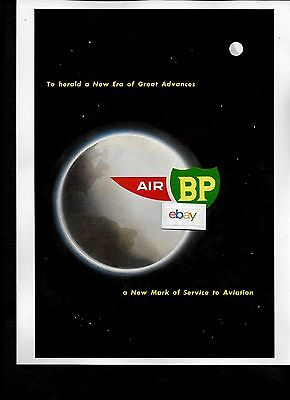 Air Bp Oil Co To Herald A New Era Of Great Advances Mark Of Service 1975 Ad