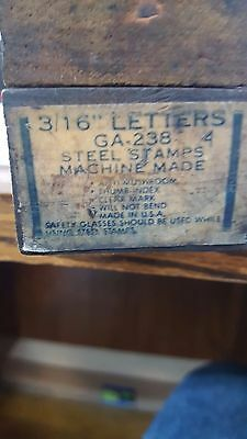 "Blue Point / Steel Stamps 3/16""  Letters"