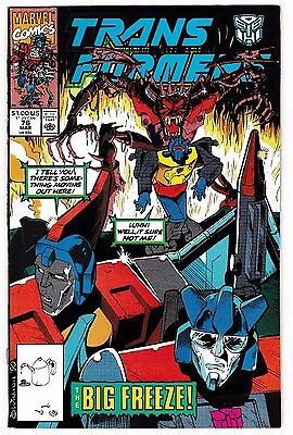 TRANSFORMERS #76 (VF/NM) Low Print Run Issue! Autobots! Decepticons! 1991