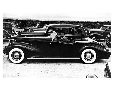 1938 Packard 120 Chassis Darrin ORIGINAL Factory Photo oub2724