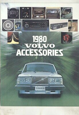 1980 Volvo 140 164 240 242 245 260 262C DL GL GLE GT Accessories Brochure my7167
