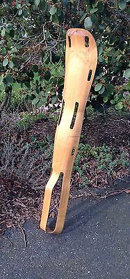 Vintage Evans Eames WW II Wood Molded Plywood Leg Splint S2-1790 MCM