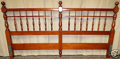 HARDEN CHERRY HEADBOARD Solid Cherry King Size Picket Style VINTAGE