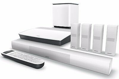 New Bose Lifestyle 650 Home Entertainment System Theater Soundtouch - White
