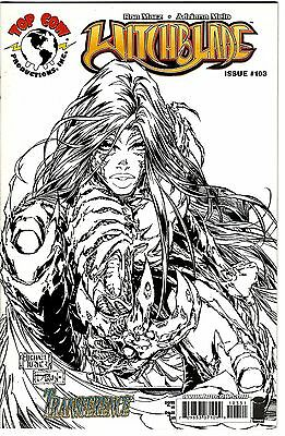 Witchblade #103 (2007) VF/NM   Marz - Melo   Michael Turner Sketch Cover
