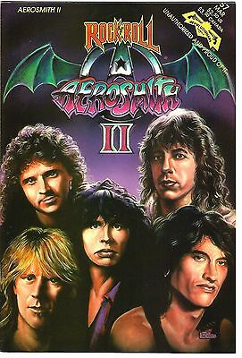 "Rock 'N' Roll Comics #57 ""Aerosmith II"" (1993) VG  ""Revolutionary Comics"""