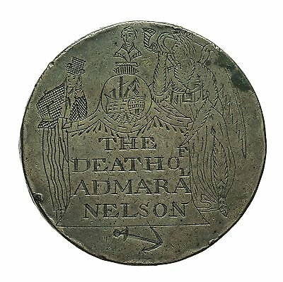 Engraved George Iii Twopence  The Death Of Admiral Nelson