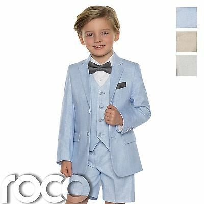 Boys Suits, Boys Linen Suits, Page Boy Outfits, Boys Formal Suits with Shorts