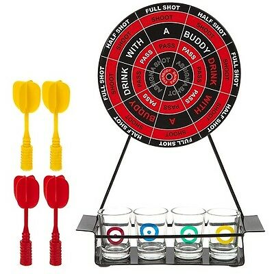 Darts Drinking Game Alcohol Shots Set Ideal For Parties Gatherings Adult Stags