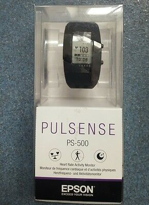 Epson / Seiko Pulsense Ps-500 - Heart Rate Activity Monitor - New Boxed