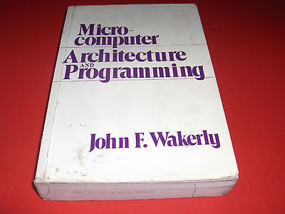 1981 Buch Microcomputer Architecture And Programming Stanford University