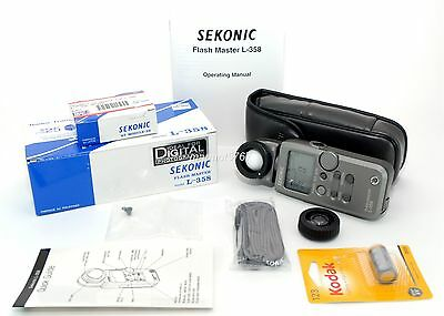 Sekonic Flash Master L-358!! Excellent Plus Condition!! 90-Day Warranty!!