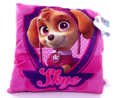 New Official Childrens Pink Skye Paw Patrol Cushion Pillow