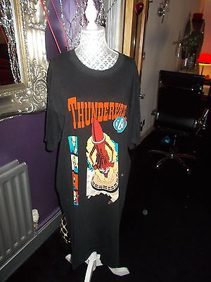 Ladies  Vintage 90S Thunderbirds Long Top Nightie   G Con  Oversized Retro L/xl