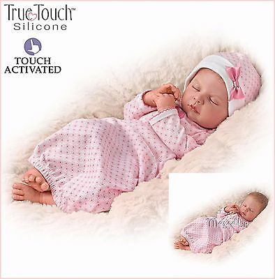 Sweet Dreams Serenity Breathing - Poseable - weighted Baby Doll by Ashton-Drake