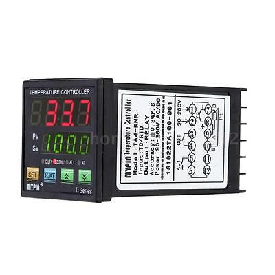 Digital LED PID Temperature Controller Thermometer RNR 1 Alarm Relay Output Q3H3