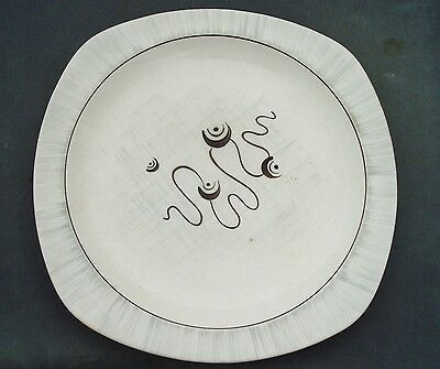 MIDWINTER STYLECRAFT 'FANTASY' DINNER PLATE 1950s JESSIE TAIT MODERNIST
