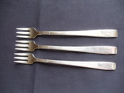 Oneida Silverplate Hotel Plate Holiday Inn Pickle Condiment Forks