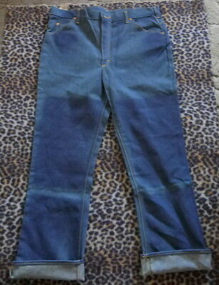 NOS 60's LEE RIDERS Boot Cut Flare Denim Jeans 40 x 34 NWT