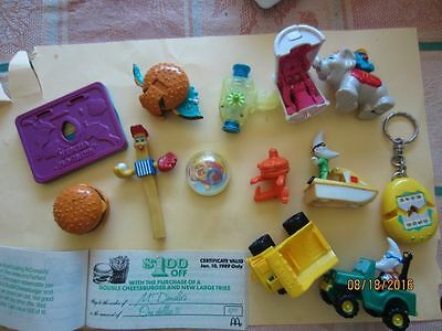 McDonald's lot of Happy Meal Toys