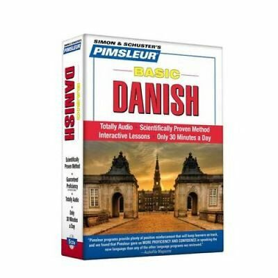 Pimsleur Danish Basic Course - Level 1 Lessons 1-10: Learn to Speak and...