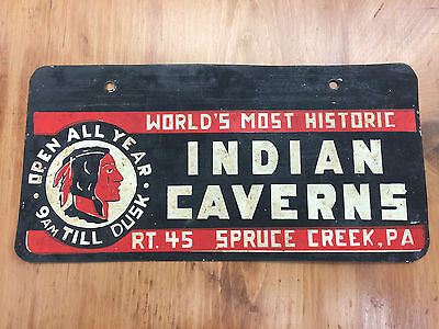 1950's INDIAN CAVERNS RT. 44 SPRUCE CREEK, PA