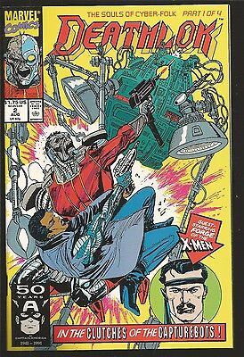 Deathlok #2,3,4,5 (1991, Marvel)  The Souls Of Cyber folk, full story, jv