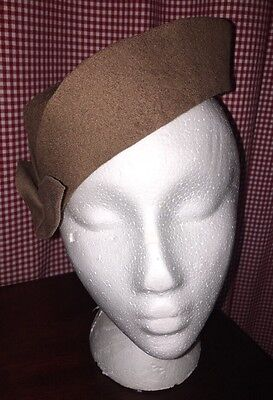 Vintage Ladies Henry Pollak Co. Glenover 100% Wool Hat