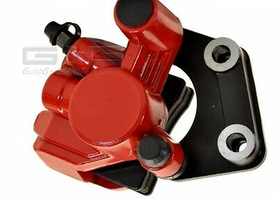 Brake saddle front red for 50ccm 1E40QMB Scooter Explorer Generic CPI Keeway