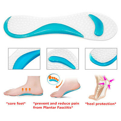 Foot Care Tool 2pcs=1pair Silicone Gel Insole Of Flatfoot Arch Support Cushion Pads Orthopedic Protector Insoles For Shoes Massage Gel Pads To Win Warm Praise From Customers Skin Care Tools