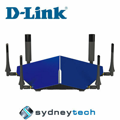 New D-Link DSL-4320L TAIPAN - AC3200 Ultra Wi-Fi Modem Router (FTTN Compatible)