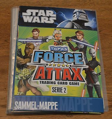 Force Attax Clone Wars Serie 2 Sammelmappe Mappe Star Wars