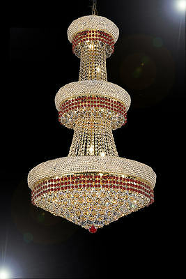 """French Empire Crystal Chandelier Chandeliers Moroccan Style Lighting H50"""" X W30"""""""