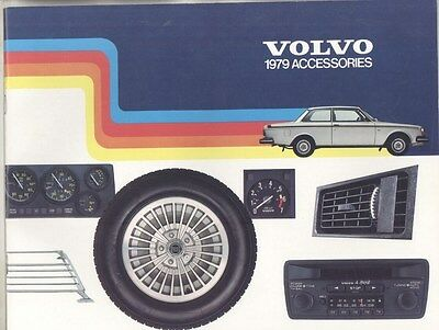 1979 Volvo 140 145 164 240 242 245 260 262 265 Accessories Brochure my7152