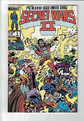 Marvel Comic SECRET WARS 2  - No 9 March  1986  cents issue