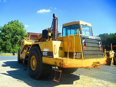 2001 Caterpillar 615C Series 2 Self Loading Scraper Pan, Cab & Air, 3074 Hours