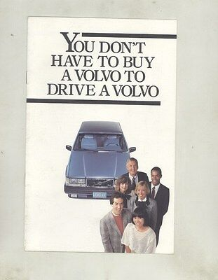 1985 Volvo Leasing Program Brochure my7199