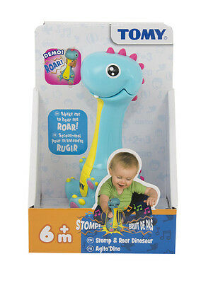 E72352 TOMY Stomp & Roar Dinosaur Shake & Bounce to hear Sounds Baby Infant 6m+