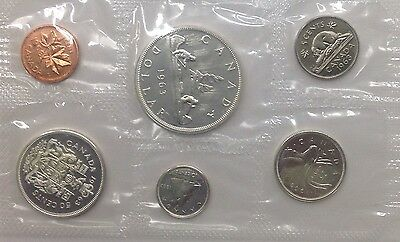 Sealed 1963 Canadian Mint Set Silver Coins