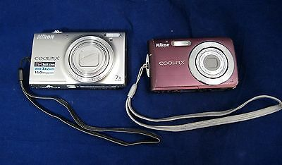 Nikon Coolpix Digital Cameras Lot of 2