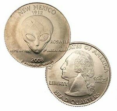 2008 Parody New Mexico Quarter Roswell