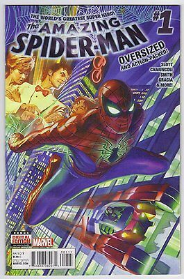 Amazing Spider-Man #1 (2015) Alex Ross Cover - Oversized Issue