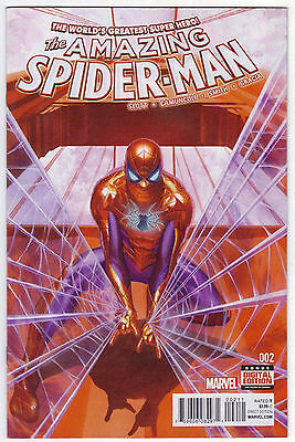 Amazing Spider-Man #2 (2015) Alex Ross Cover